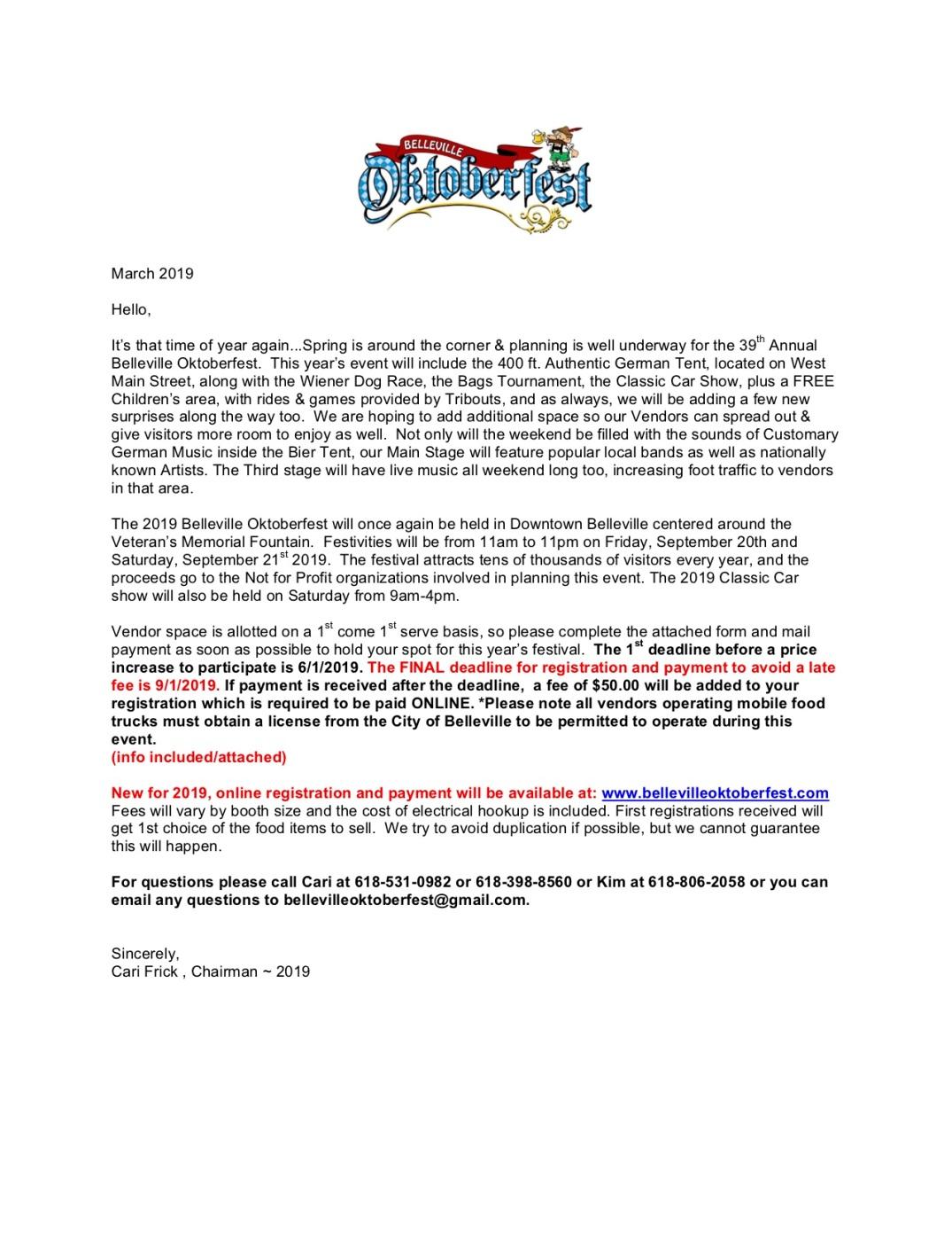 2019 Vendor Letter & Registration - Jpeg