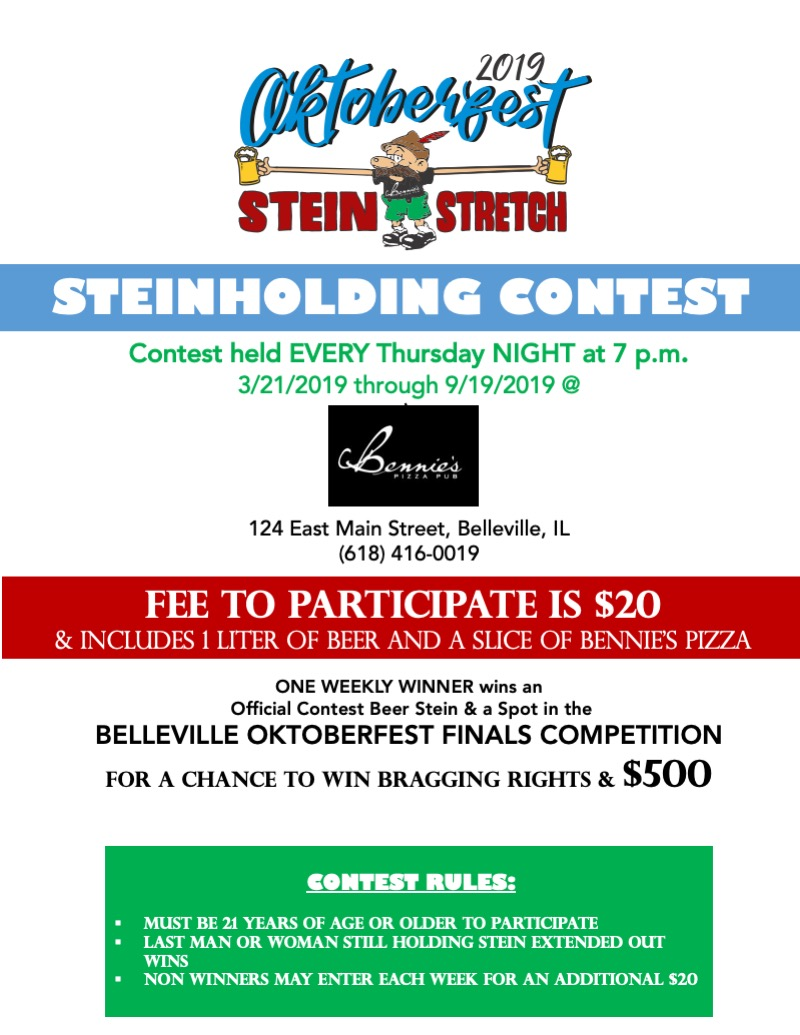 STEIN HOLDING CONTEST Flyer (Revised color)