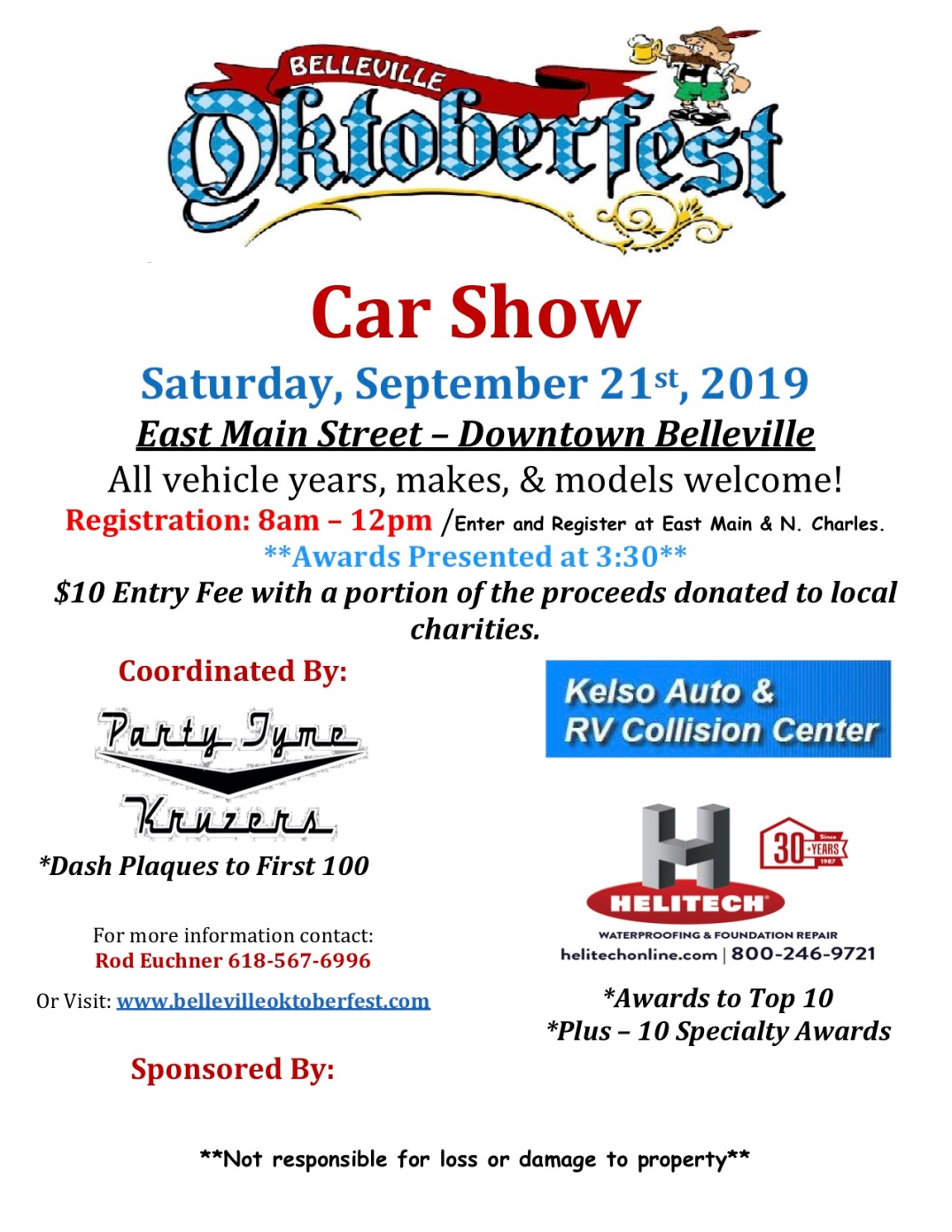 2019 - Car Show Updated Flyer